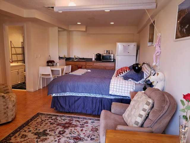 Cozy Studio w/ Private Entrance in Huntington Sta.