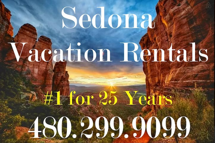 Red Rocks & 4Heated Swimming Pools Awesome Resort - Sedona - Villa