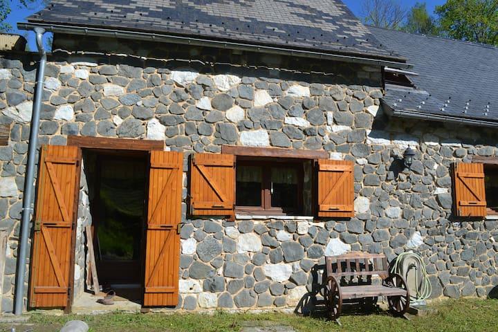 Superbe grange rénovée avec gout - Portet-d'Aspet
