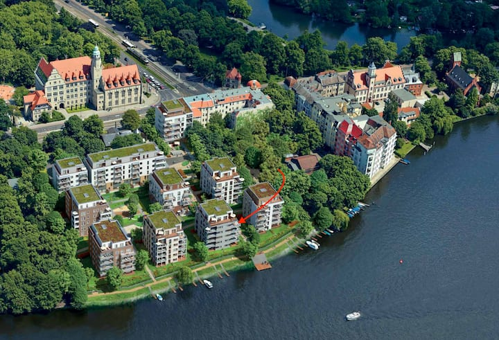 Premium-Appartment direkt am Wasser - Luxus pur