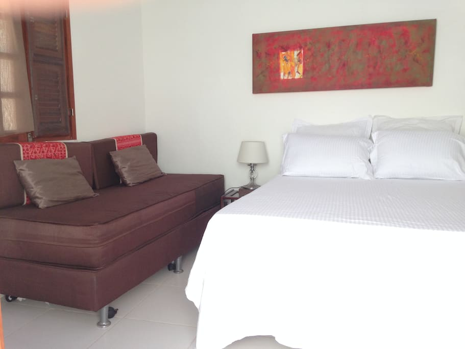 Double bedroom with sofa (available on a separate page *Bedroom 1)
