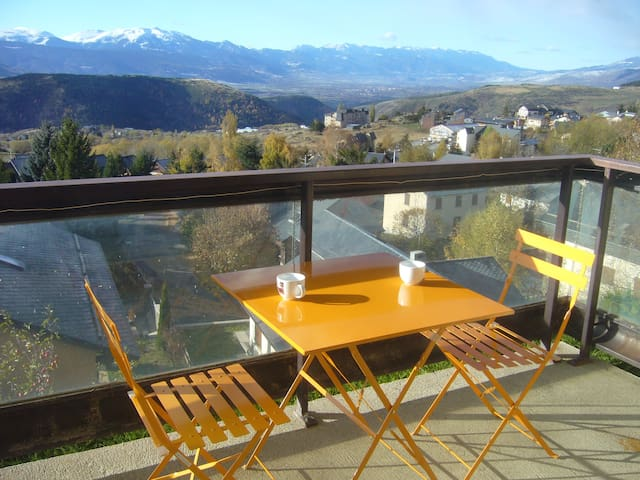 Cozy T2 south oriented in Font Romeu - Font-Romeu-Odeillo-Via - Apartemen