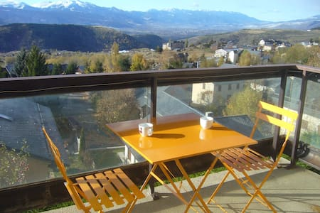 Cozy T2 south oriented in Font Romeu - Font-Romeu-Odeillo-Via - Lejlighed
