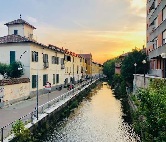 Milano home at Naviglio Martesana