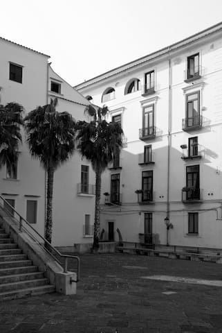 Historical Studio close to the Duomo in Salerno