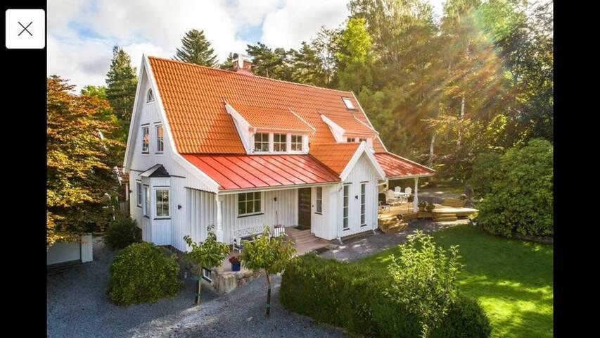 Exklusiv villa 30 minuter norr om Göteborg