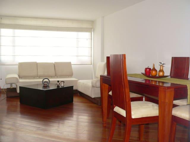 Confortable apartamento en Chapinero