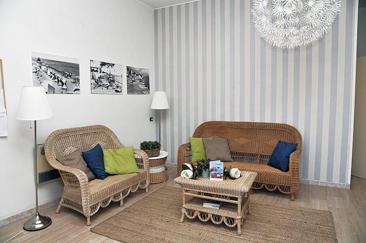 Appartamento ampio, luminoso e fresco