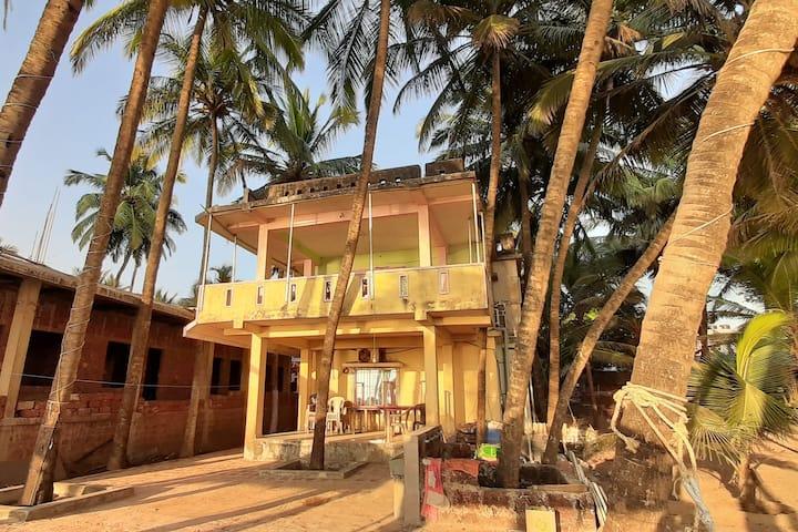 SaiRaj Beach Resort Sea Facing room on first floor