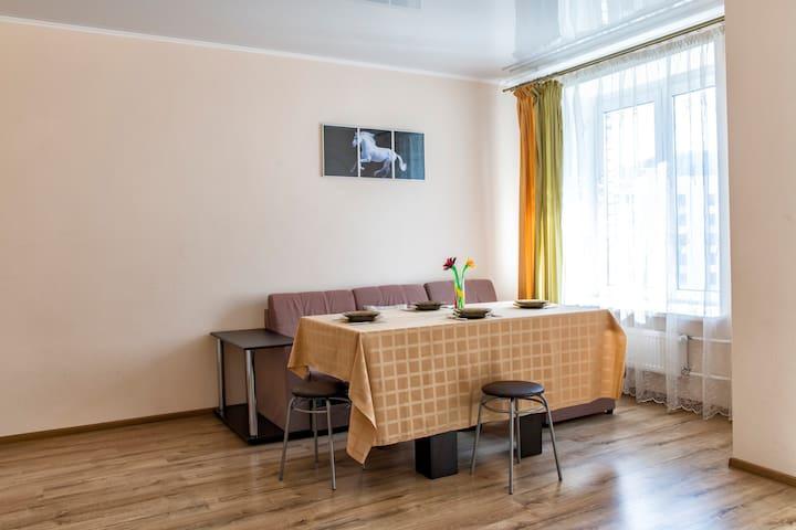 Апартаменты в Тюмени в новом жилом комплексе