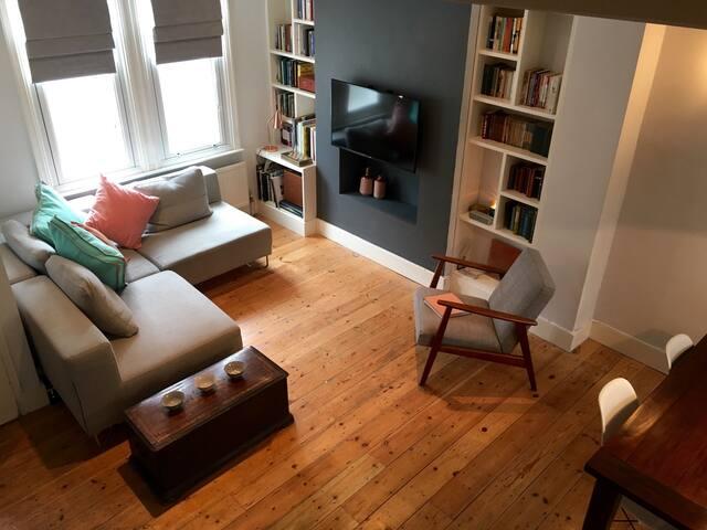 Designer Garden Flat / Dble Room / Hackney - Londen - Huis