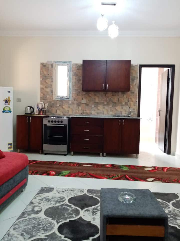 Apartment one bed  Nour Plaza with beach&Pool 430