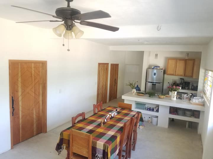 DIXZA: new Airbnb house in the family compound