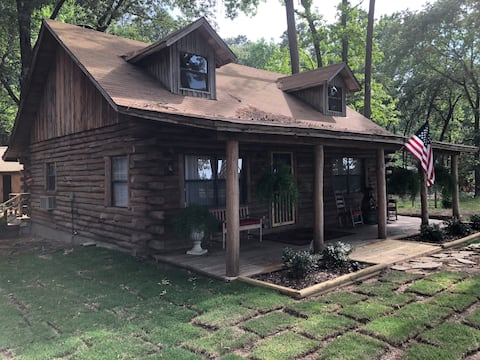 Cora's Main Log Cabin