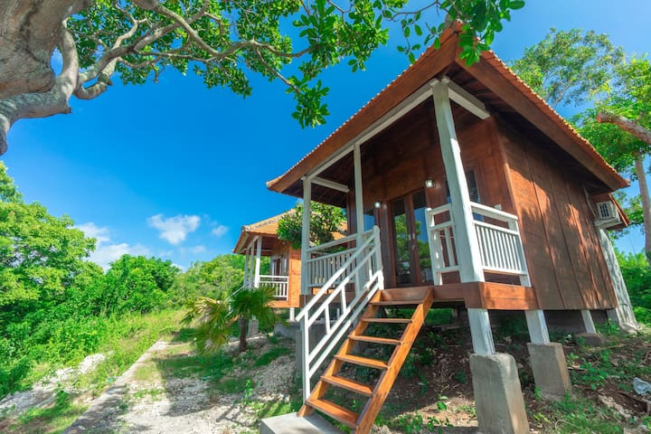 Humble Ethnic Bungalow Above Beach Cliff B1
