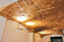 details - the bricks ceiling in the dining room date back to the ancient period of 1600