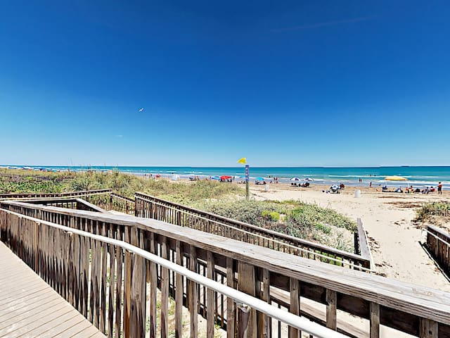 Beach access is available across the street from your rental.