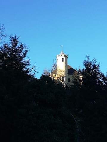 Idylle unterhalb des Schlosses