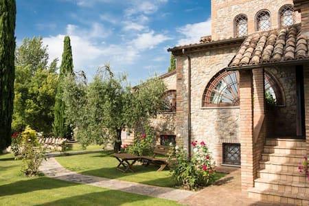 splendida Villa tra umbria e toscana - Città della Pieve - Haus