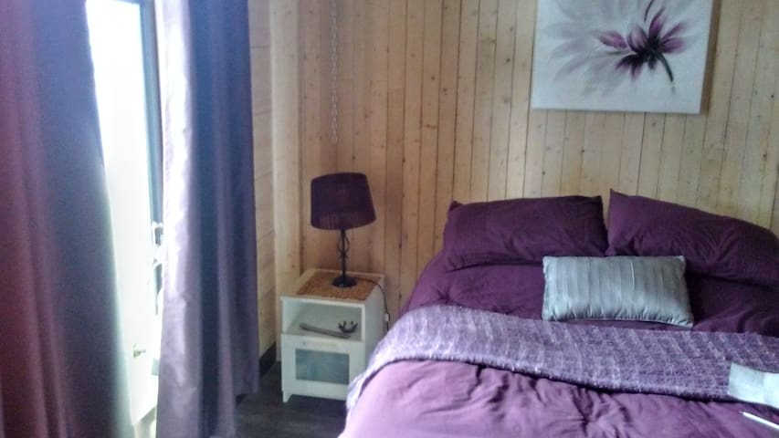 WOOD BEDROOM and Common AREA