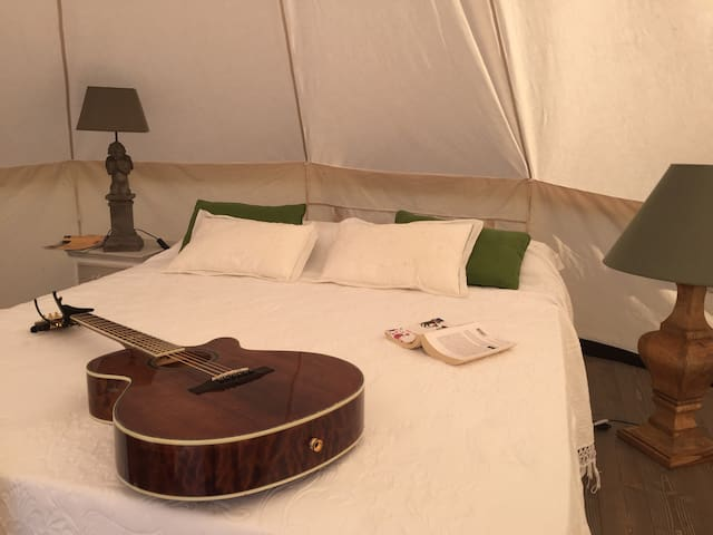 The Lazy Olive Glamping in Tuscany - Tent 3/10