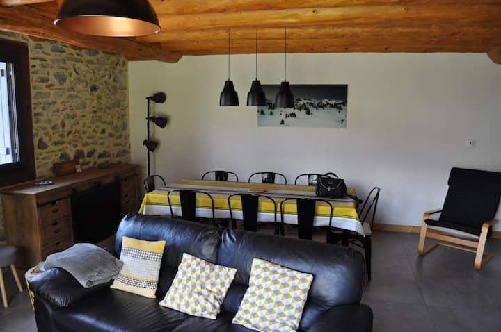 Grange rénovée,proche Peyragudes & Balnéa (Louron)