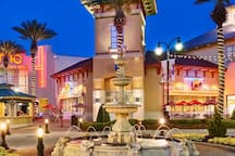 Destin Common's is Destin's premiere shopping venue with upscale name brand stores, an AMC Imax theater and tons of fun eateries like the Hard Rock Cafe, Johnny Rockets and World of Beer.  Only 3 miles from Mojo!