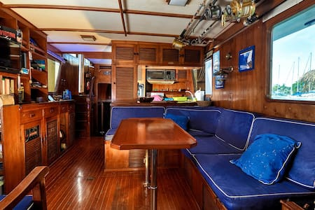 Cabin on a Yacht downtown Papeete - Papeete