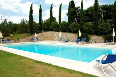Il Cassero - Tower, sleeps 2 guests in Lucignano - Lucignano - Wohnung