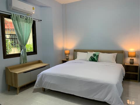 Guesthouse in the middle of Buri Ram city.