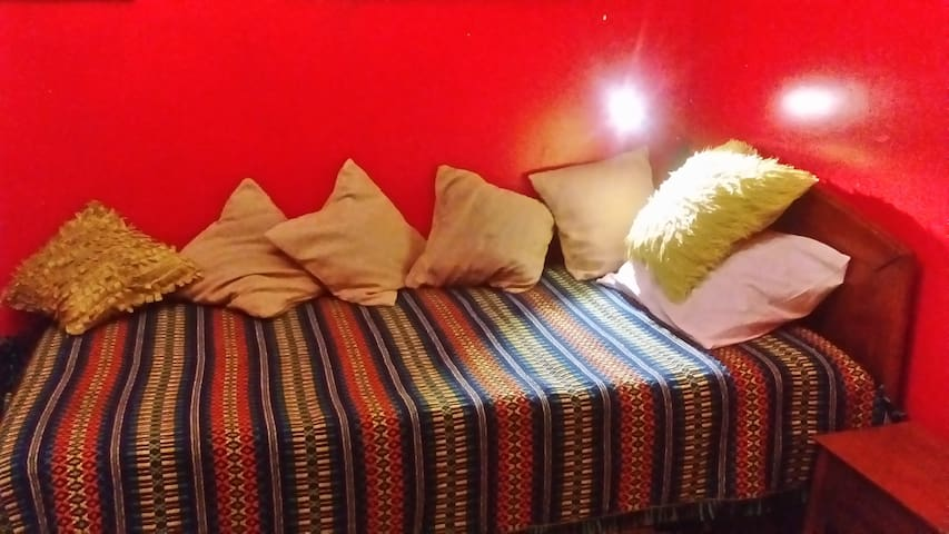 Cosy single room in a family house with backgarden - Lisboa - Huis