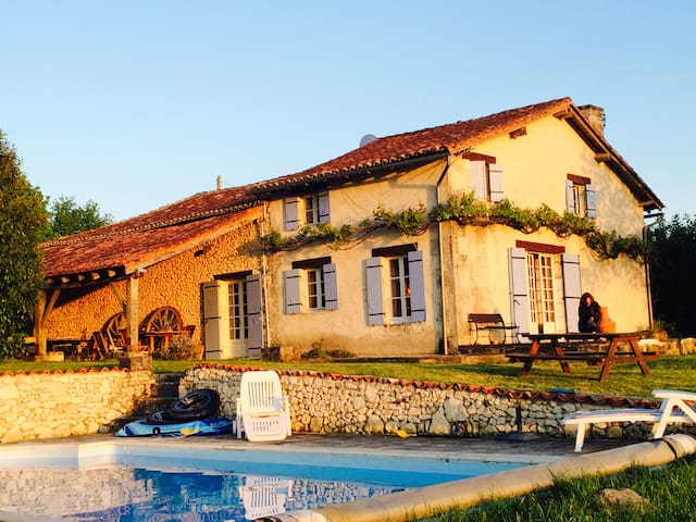 Holiday Home near Verteillac