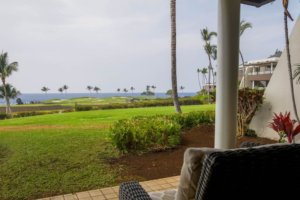 Welcome to Coastal Dream Villa - This is the view from the lanai