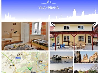 near the airport and Prague center - Statenice - 別荘