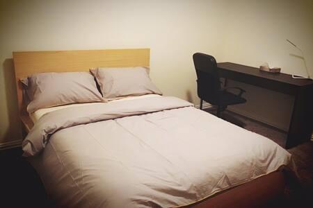 A new-built, private &comfy room