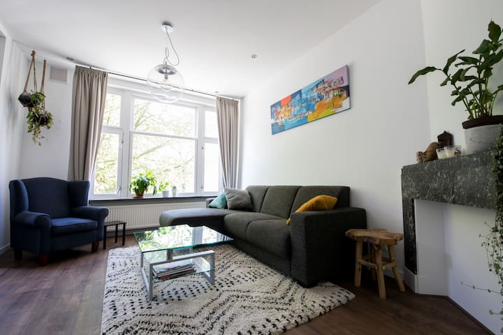 Characteristic apartment in Amsterdam West