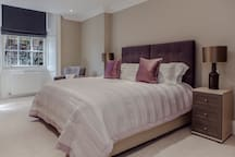 All of the bedrooms are elegantly decorated