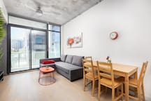 """""""Wow amazing spot to stay. Location was perfect for staying in Toronto- the pictures of the view does not do this Airbnb justice!"""" -Tanner  (5 Star Rating)"""