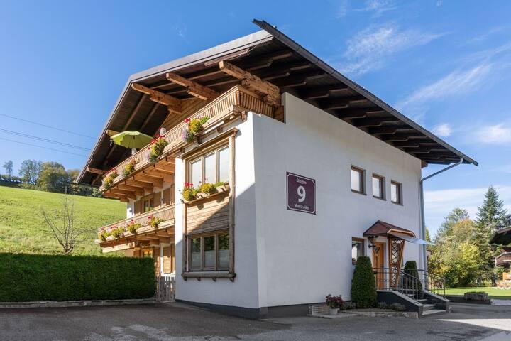 Apartamento luminoso cerca de pistas de esquí en Maria Alm