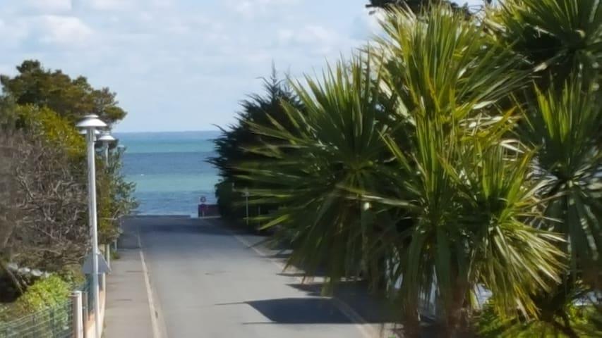 Appartement bord de plage (petite vue mer) - Loctudy - Lägenhet