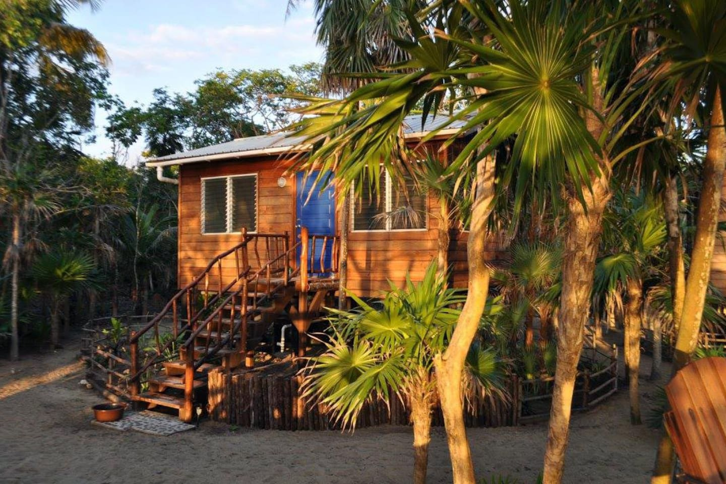 Tucked into the Belize jungle yet steps from the Caribbean Sea, the Bamboo makes the perfect setting for your honeymoon or anniversary.  With access to miles of undeveloped shoreline, you can find your own private beach to celebrate.