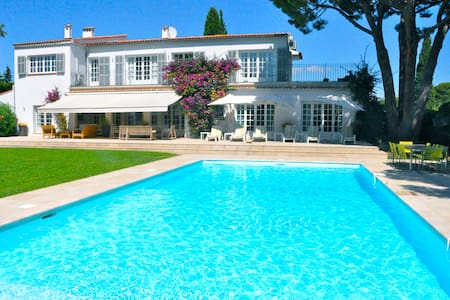Spacious Villa with 7 bedrooms and private pool. - Antibes