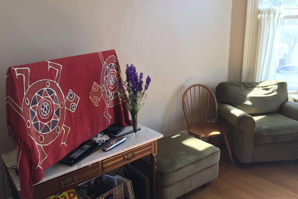 Living Room/T.V