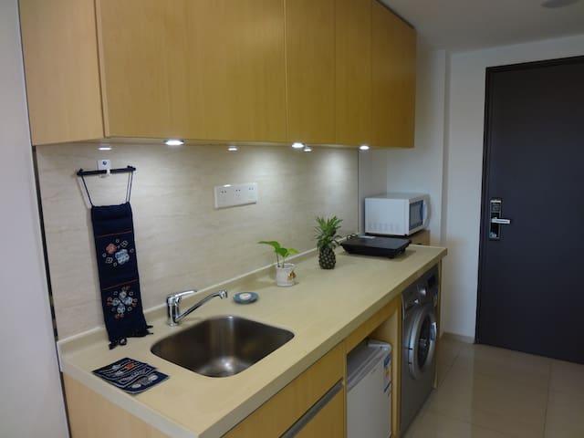 能做饭洗衣,设施齐全舒适公寓 - Foshan - Appartement