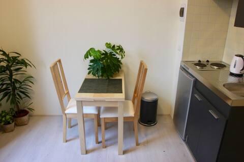 New cozy studio near Delft city center