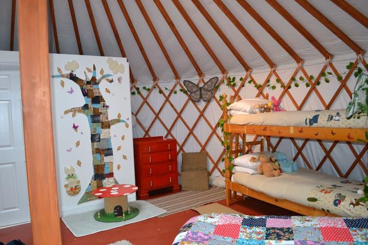 Kids Love Yurts