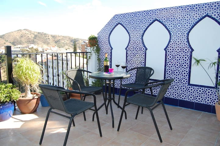 One bed apartment with Moroccan flavour - Álora - Apartemen
