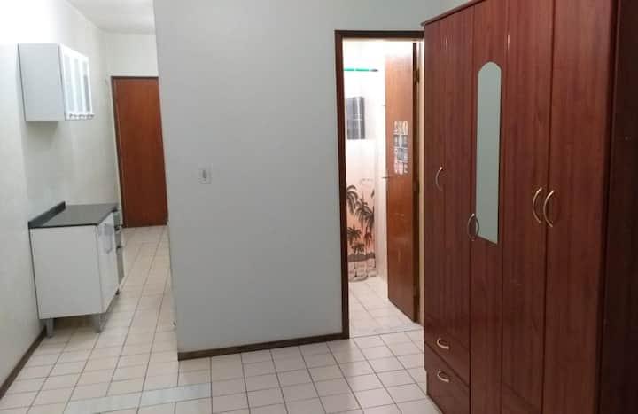 Apartamento Quarto e Sala em Brasília - Sudoeste