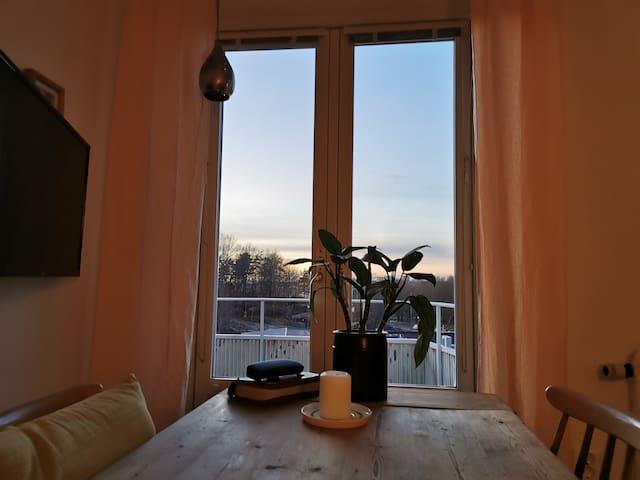 Mysig och fin lägenhet.