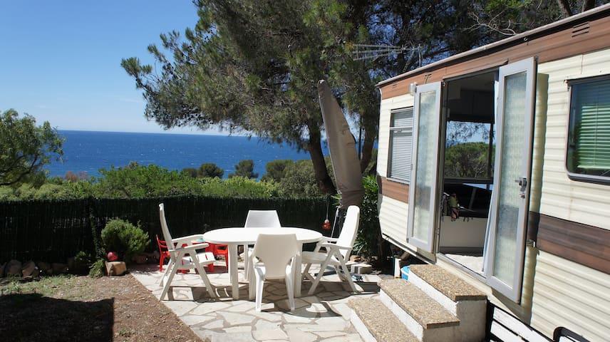 Mobilhome vue mer - Saint-Raphaël - Karavan